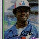 1982 Topps #695 Warren Cromartie