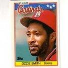 1988 Topps UK Minis #72 Ozzie Smith