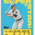 1990 Topps Sticker Backs #6 Ryne Sandberg