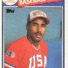 1985 Topps #398 Shane Mack OLY RC