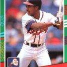 1991 Donruss #450 Oddibe McDowell