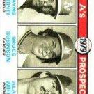 1979 Topps #711 Dwayne Murphy RC/Bruce Robinson RC/Alan Wirth RC