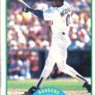 1989 Score #59 Oddibe McDowell