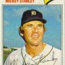 1977 Topps #533 Mickey Stanley