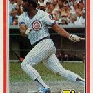1981 Donruss 484 Cliff Johnson