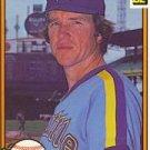 1982 Donruss #302 Glenn Abbott