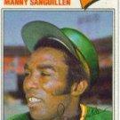 1977 Topps #61 Manny Sanguillen