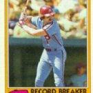 1981 Topps #206 Mike Schmidt RB