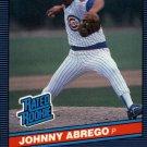 1986 Donruss 32 Johnny Abrego RC