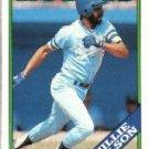 1988 Topps 452 Willie Wilson