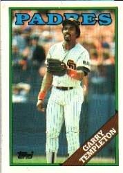 1988 Topps 640 Garry Templeton