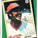 1988 Topps 662 Jim Rice TBC