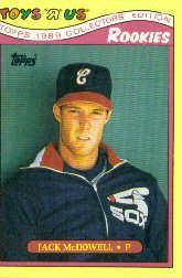 1989 Toys'R'Us Rookies #20 Jack McDowell