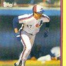 1989 Toys'R'Us Rookies #25 Nelson Santovenia