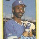 1989 Topps 168 Willie Wilson