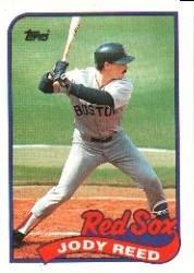 1989 Topps 734 Jody Reed