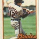 1989 Topps Traded #23T Mike Devereaux