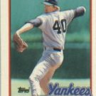 1989 Topps Traded #47T Andy Hawkins
