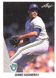 1990 Leaf 85 Jaime Navarro