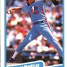 1990 Fleer 354 Dennis Martinez UER