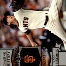 2013 Topps Chasing History #CH85 Tim Lincecum