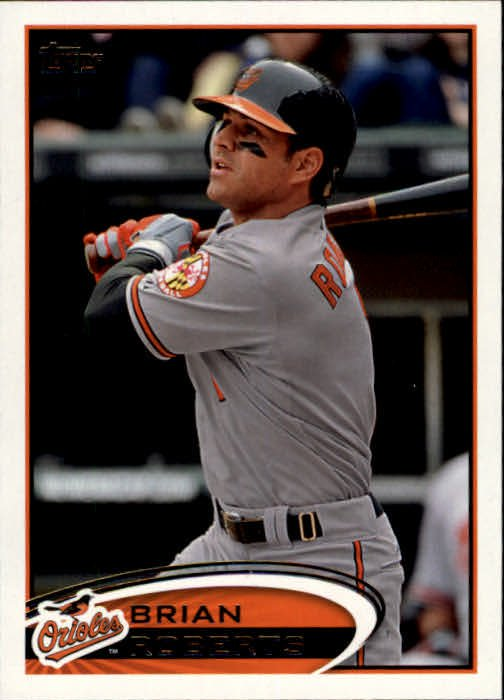 2012 Topps #514 Brian Roberts