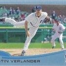 2013 Topps Wal Mart Blue Border #35 Justin Verlander