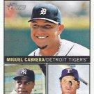 2013 Topps Heritage #10 Miguel Cabrera/Curtis Granderson/Josh Hamilton