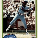 1981 Topps #70 Al Oliver DP