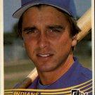 1984 Donruss #542 Brook Jacoby