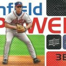 2008 Upper Deck Infield Power #CJ Chipper Jones