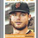 2013 Topps Heritage #37 Brandon Crawford