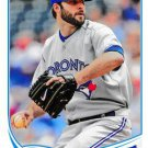 2013 Topps Update #US287 Brandon Morrow