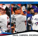 2014 Topps #29 Chris Davis/Miguel Cabrera/Edwin Encarnacion LL