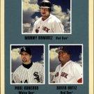 2005 Fleer Tradition #9 Manny/Konerko/Ortiz SL