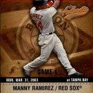 2003 Fleer Authentix #28 Manny Ramirez