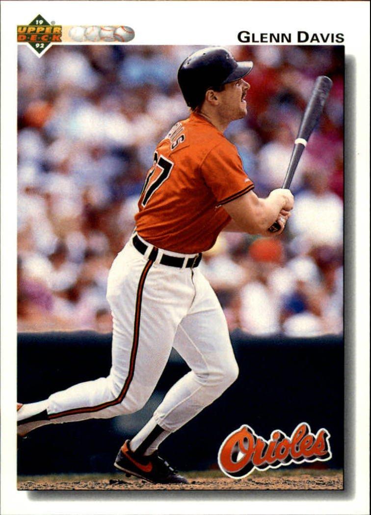 1992 Upper Deck 654 Glenn Davis