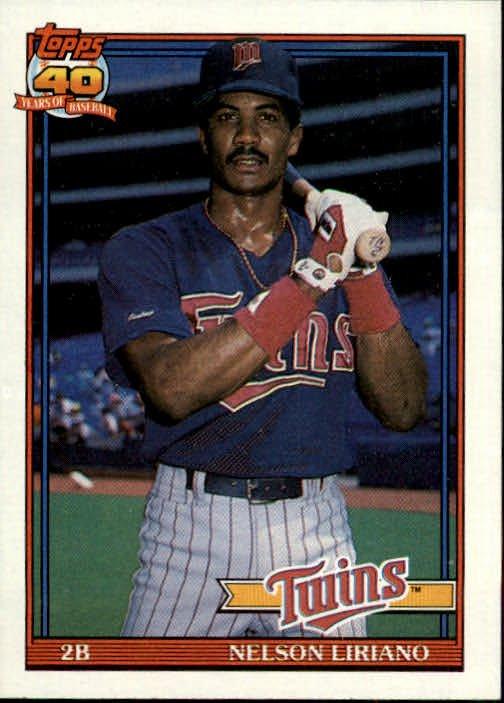 1991 Topps 18 Nelson Liriano