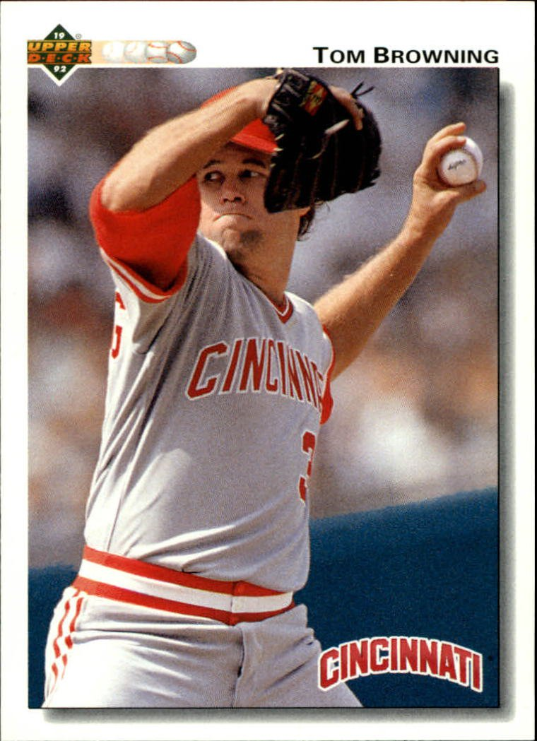 1992 Upper Deck 461 Tom Browning