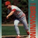 1992 Fleer 401 Tom Browning