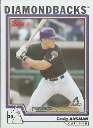 2004 Topps #302 Craig Ansman FY RC