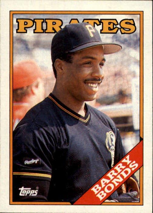 1988 Topps 450 Barry Bonds