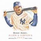 2007 Topps Allen and Ginter #275 Bobby Abreu