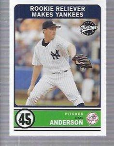 2003 Upper Deck Vintage #313 Jason Anderson