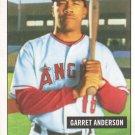 2005 Bowman Heritage #118 Garret Anderson