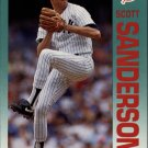 1992 Fleer 243 Scott Sanderson