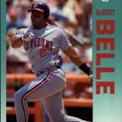 1992 Fleer 105 Albert Belle