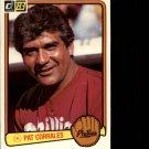 1983 Donruss #626 Pat Corrales MG