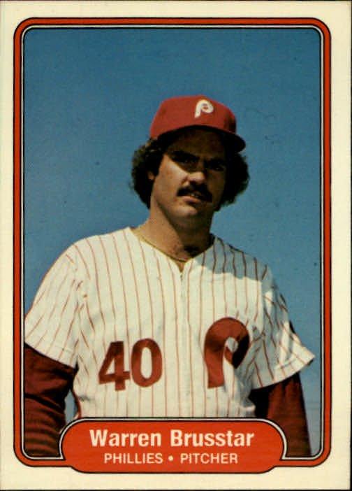 1982 Fleer 242 Warren Brusstar