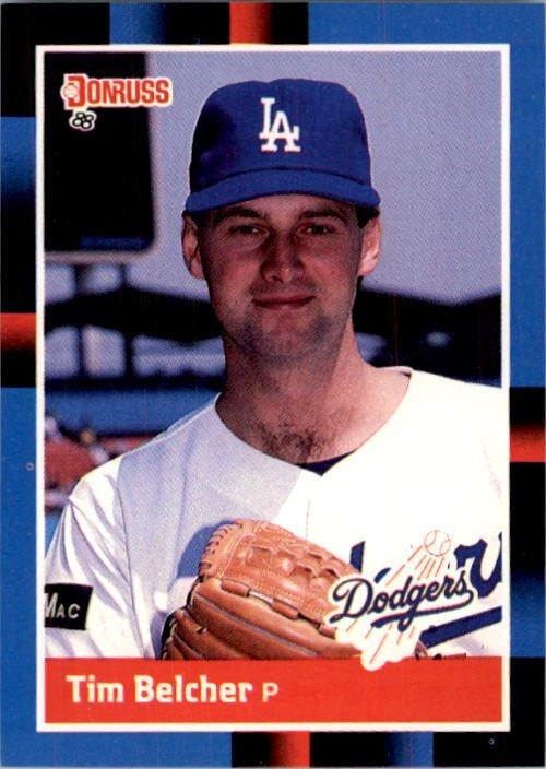 1988 Donruss 587 Tim Belcher